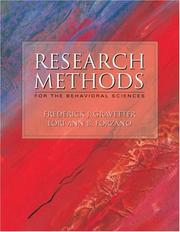 Cover of: Research Methods for the Behavioral Sciences (with Lab Manual and InfoTrac)