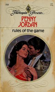 Cover of: Rules Of The Game