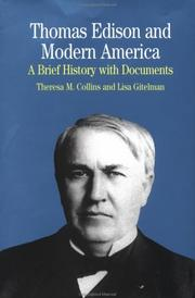 Cover of: Thomas Edison and Modern America