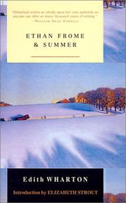 Cover of: Ethan Frome and Summer