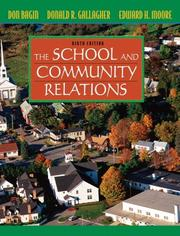 Cover of: School and Community Relations, The (9th Edition)