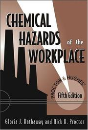 Cover of: Proctor and Hughes' Chemical Hazards of the Workplace, 5th Edition