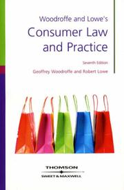 Cover of: Consumer Law and Practice