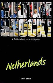 Cover of: Culture Shock! Netherlands (Culture Shock!)