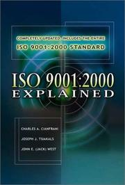 Cover of: Iso 9001