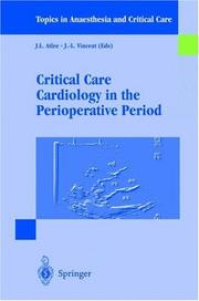 Cover of: Critical Care Cardiology in the Perioperative Period