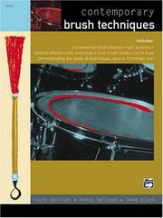 Cover of: Contemporary Brush Techniques