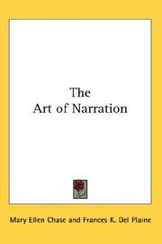 Cover of: The Art of Narration