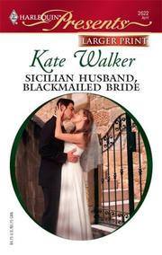 Cover of: Sicilian Husband, Blackmailed Bride