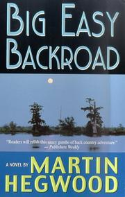Cover of: Big Easy Backroad (A PI Jack Delmas Mystery)