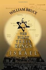 Cover of: The First Three Kings of Israel