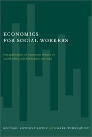 Cover of: Economics for Social Workers