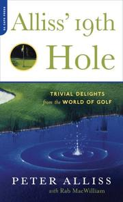 Cover of: Alliss' 19th Hole