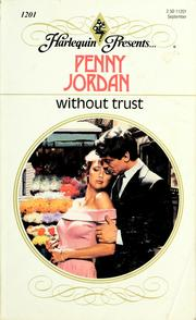Cover of: Without Trust