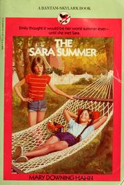 Cover of: The Sara Summer