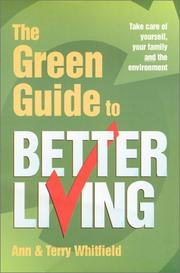 Cover of: The Green Guide to Better Living