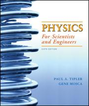 Cover of: Physics for Scientists and Engineers, Extended Version