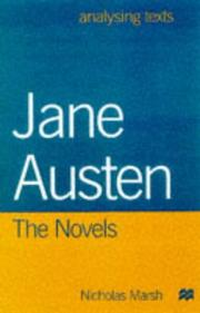 Cover of: Jane Austen (Analysing Texts)