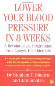 Cover of: Lower Your Blood Pressure in 8 Weeks