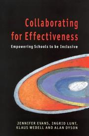 Cover of: Collaborating for Effectiveness