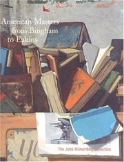 Cover of: American Masters from Bingham to Eakins