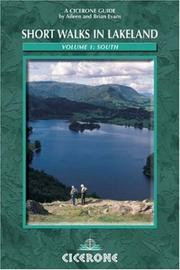Cover of: Short Walks in Lakeland (Cicerone British Walking)