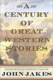 Cover of: A Century of Great Western Stories-An Anthology of Western Fiction