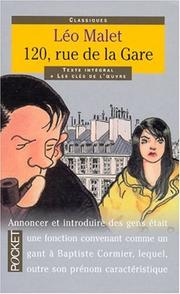 Cover of: 120, rue de la Gare