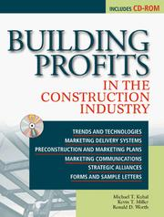 Cover of: Building Profits in the Construction Industry