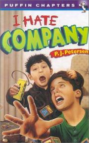 Cover of: I Hate Company