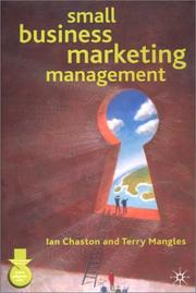 Cover of: Small Business Marketing Management