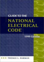 Cover of: Guide to the National Electrical Code 1999 (Guide to the National Electrical Code)