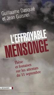 Cover of: L Effroyable Mensonge