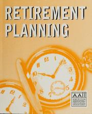 Cover of: Retirement planning