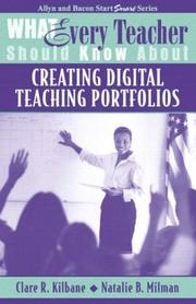 Cover of: What Every Teacher Should Know About Creating Digital Teaching Portfolios (What Every Teacher Should Know About... (WETSKA Series))