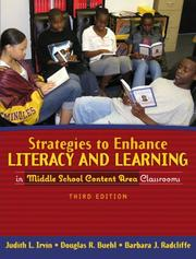 Cover of: Strategies to Enhance Literacy and Learning in Middle School Content Area Classrooms (3rd Edition)