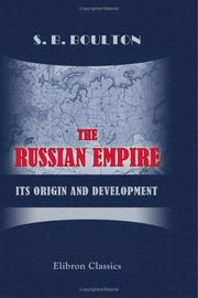 Cover of: The Russian Empire