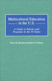 Cover of: Multicultural Education In the U. S.