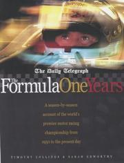 "Cover of: The ""Daily Telegraph"" Formula One Years"