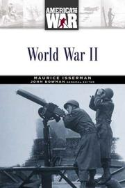 Cover of: World War II (America at War)