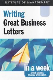 Cover of: Business Letters (Successful Business in a Week)