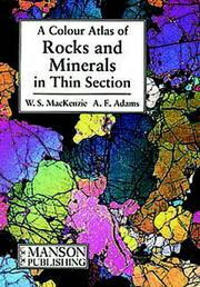 Cover of: A Colour Atlas of Rocks and Minerals in Thin Section