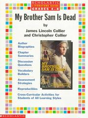 Cover of: Literature Guide: My Brother Sam is Dead (Grades 4-8)