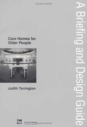 Cover of: Care Homes for Older People