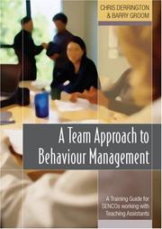 Cover of: A Team Approach to Behaviour Management