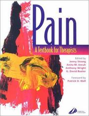 Cover of: Pain