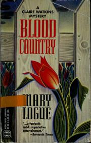 Cover of: Blood Country (Wwl Mystery)