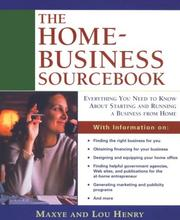 Cover of: The Home-Business Sourcebook