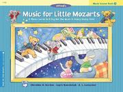 Cover of: Music for Little Mozarts, Music Lesson (Music for Little Mozarts)