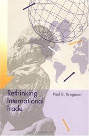Cover of: Rethinking International Trade